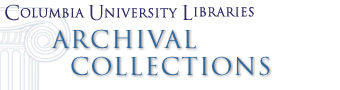 Columbia University Libraries Archival Collections